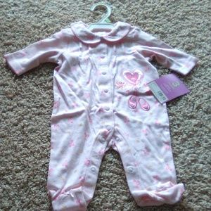 Baby girl pajama ballerina 3 months